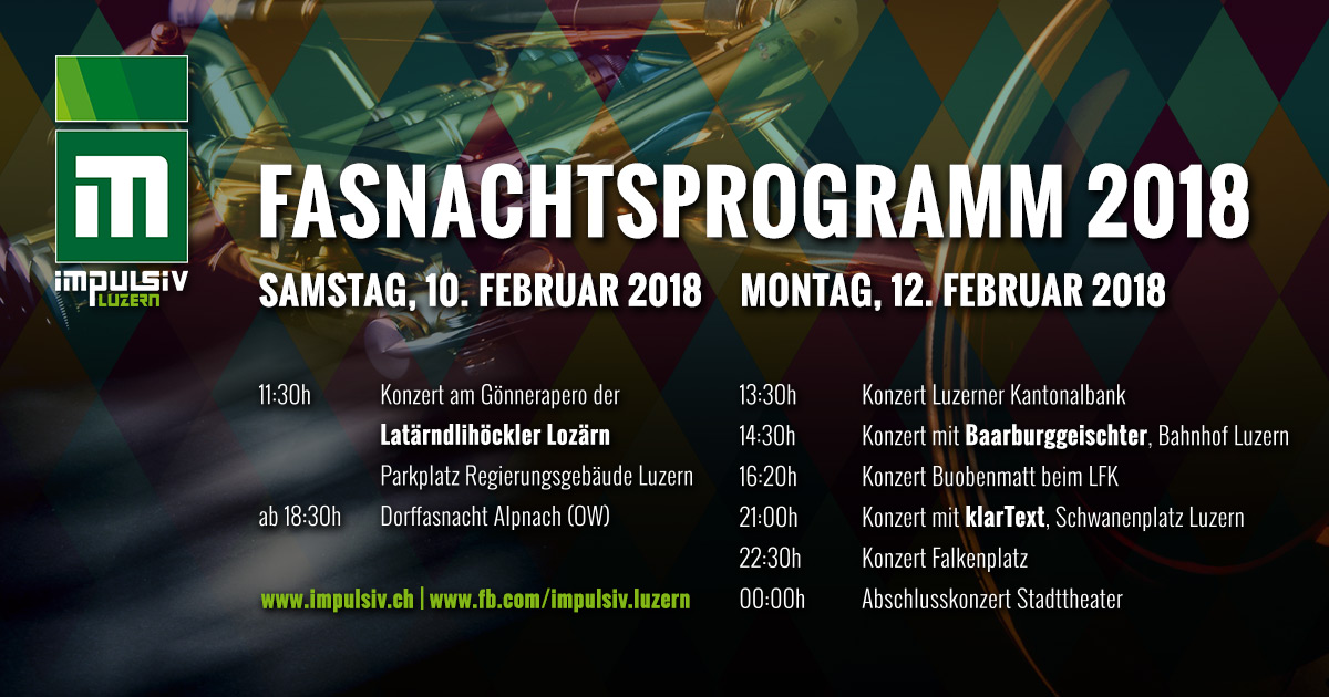 Fasnachtsprogramm 2018