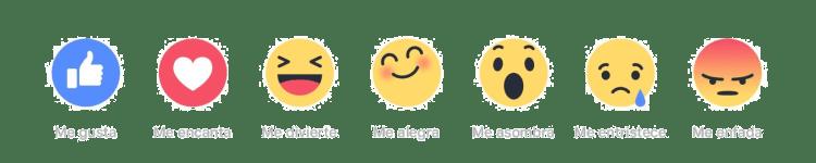 emojis reactions facebook