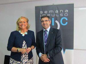 Mercedes Fernández y Oscar L. Castro