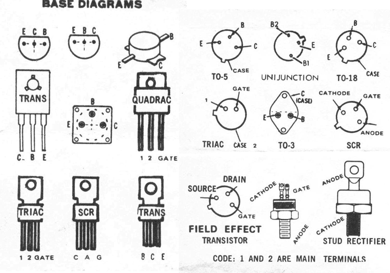 Transistor Pinouts