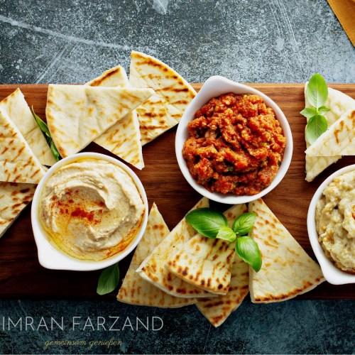 Tel Aviv Levante Online Live Kochkurs der interaktive Kochkurs mit Imran Farzand