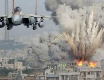 عرب اتحادی فورسز کے صنعا میں حوثی ملیشیا کے ٹھکانوں پر فضائی حملے
