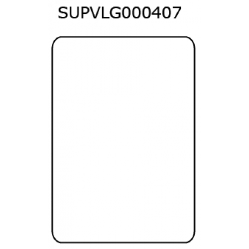 38mm X 55mm Plain Thermal Printer Label