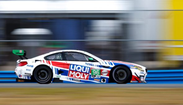 #96 Turner Motorsport BMW M6 GT3, GTD: Bill Auberlen, Robby Foley, Colton Herta, Aidan Read