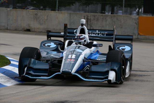 ¿Regresarán los problemas de frenos tras la situación de Chilton? FOTO: Bret Kelley/INDYCAR