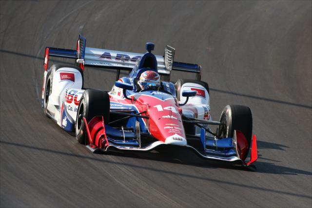 Destacable actuación al momento para Muñoz y AJ Foyt Racing (FOTO: Bret Kelley/INDYCAR)