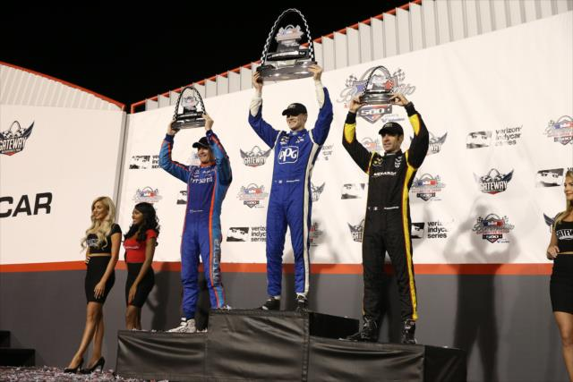 En total, son nueve triunfos de Team Penske en el torneo (FOTO: Chris Jones/INDYCAR)