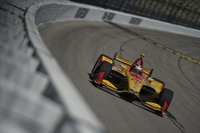 Hunter-Reay fue el mejor de los Honda (FOTO: Chris Owens/IMS, LLC Photo)