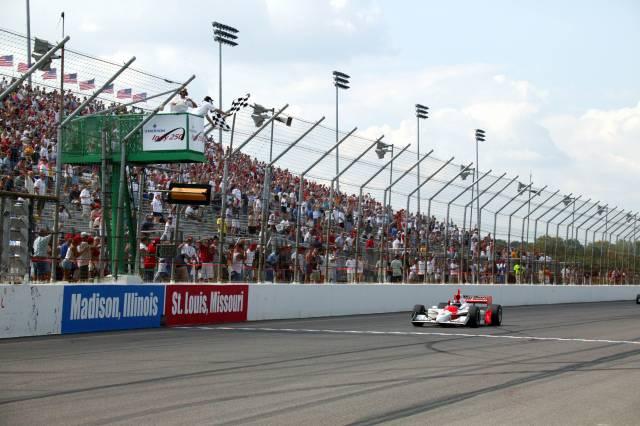 Castroneves es el más reciente vencedor en este autódromo (FOTO: IMS Photo)