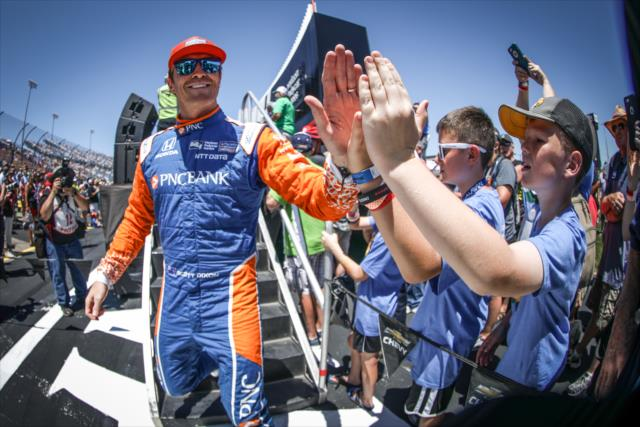 Nada le salió a Dixon ni a Ganassi Racing (FOTO: Shawn Gritzmacher/IMS, LLC Photo)