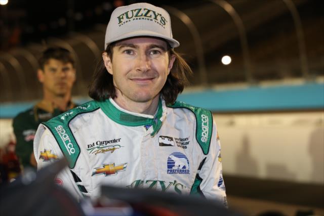En su regreso a las pistas, Hildebrand logró su mejor clasificación en la serie (FOTO: Chris Jones/INDYCAR)