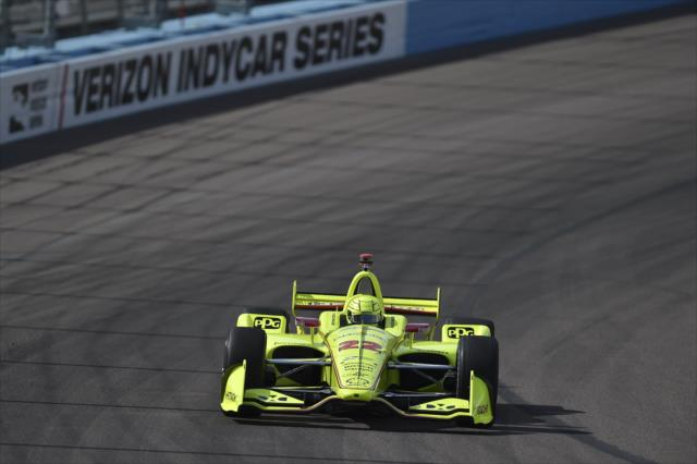 Pagenaud parecía destinado a ganar la primera plaza (FOTO: Chris Owens/IMS, LLC Photo)