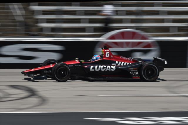 Wickens sigue sorprendiendo (FOTO: Chris Owens/IMS, LLC Photo)