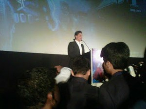 SRK in tamil Ra.One music launch