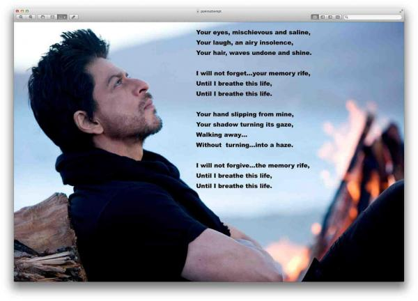 Jab Tak Hai Jaan Poem - English Translation