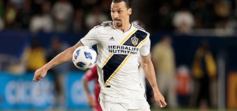 Galaxy claims 1-0 victory; Ibrahimovic receives red