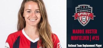 Washington Spirits sign Maddie Huster as USWNT replacement player