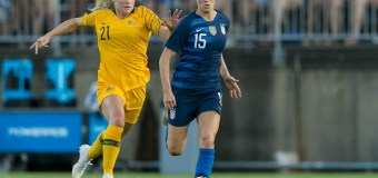 USWNT rally back to draw 1-1 against Australia