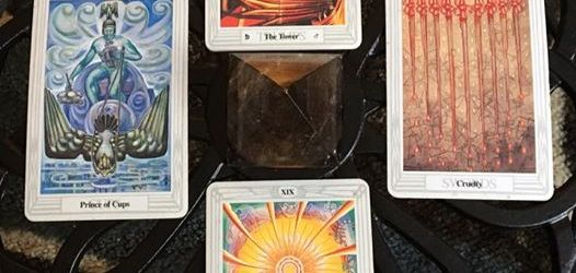 As The Tower Crumbles ~ Tarot for 18 Feb 2017