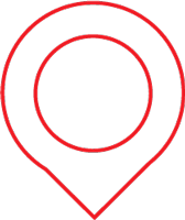 red icon of a location marker
