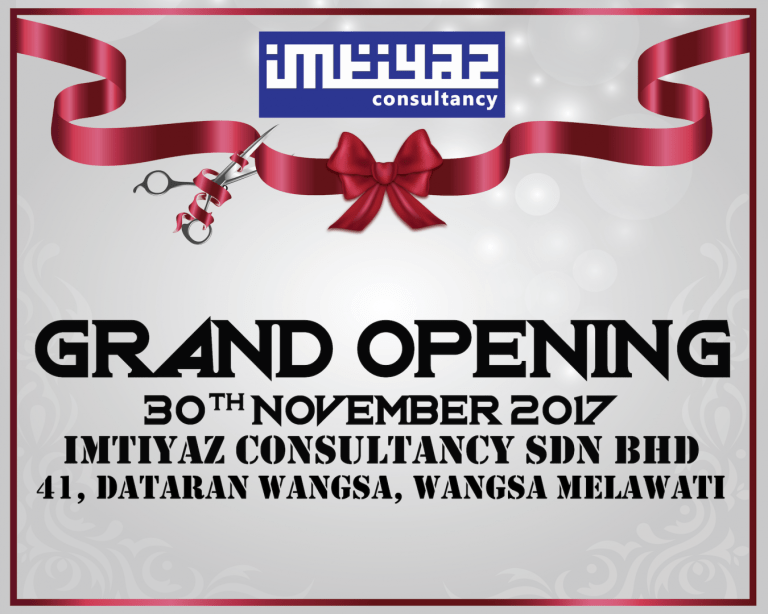 Read more about the article Grand Opening