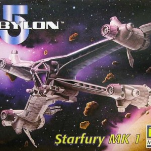 Babylon-5 Starfury Model Kit Revell