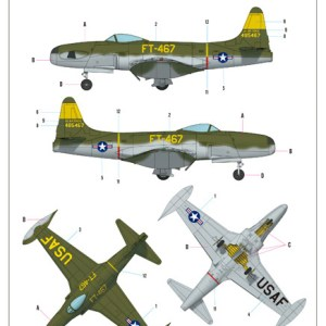 RF-80 Shootingstar 1/48 Hobby Boss