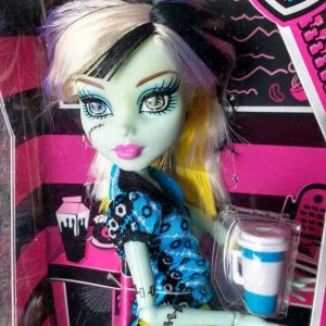 Boneca Monster High Frankie Stein Coffin Bean