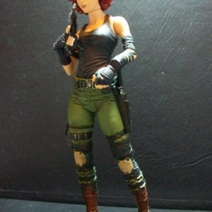 Meryl Silverborne Action Figure Metal Gear Solid Mc Farlane Toys
