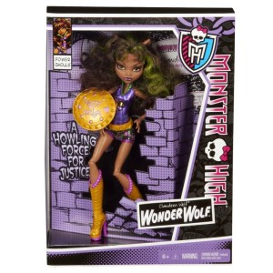 Boneca Monster High Clawdeen Wolf Power of Ghoul – Assinada