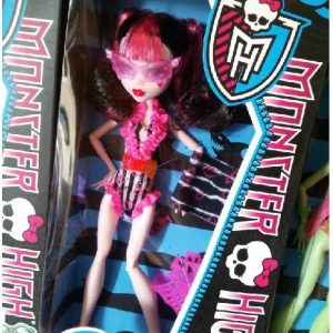 "Boneca Monster High Draculaura Make a Splash – ""Erro de Fabrica"""