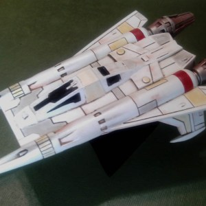 Buck Rogers Starfighter Resin Model