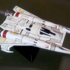 Buck Rogers Starfighter Resin Model
