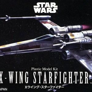 Star Wars X-Wing Fighter 1/144 Kit BANDAI