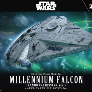 Star Wars Solo Millenium Falcon 1/144 Model Kit BANDAI
