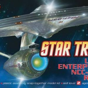 Star Trek USS 1701 Enterprise Refit Snap Kit Polar Lights