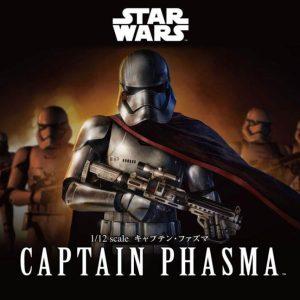 Star Wars Captain Phasma 1/12 Model Kit BANDAI
