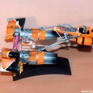 Star Wars Sebulba's Pod Racer Action Fleet Galoob