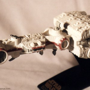 Star Wars Rebel Blockade Runner Action Fleet Galoob