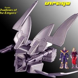 Star Wars Star Viper Virago Action Fleet Galoob
