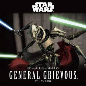 General Grievous 1/12 Model Kit BANDAI