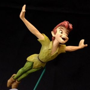 "Disney Store Peter Pan ""SOAR TO THE STARS"" Statue"