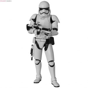 Star Wars The Force Awekens First Order Stormtrooper Action Figure Mafex