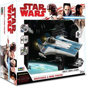 Star Wars Resistence A-Wing Eletronic Revell
