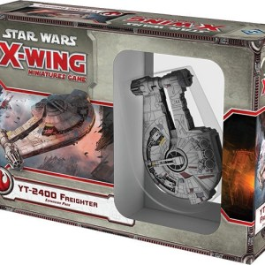 Star Wars YT-2400 Outrider de X-Wing Jogo de Miniaturas