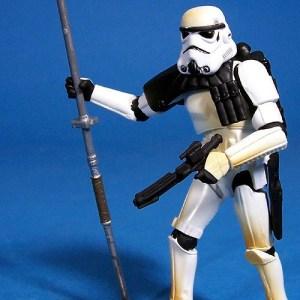 Star Wars Action Figures  Sandtrooper  Hasbro