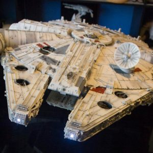 Star Wars Millenium Falcon 1/43 Super Studio Model D'Agostini