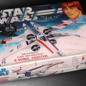 Star Wars X-Wing Fighter Model Kit MPC