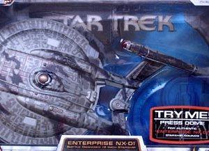 Star Trek Enterprise NX-01 Eletronic Model Art Asylum