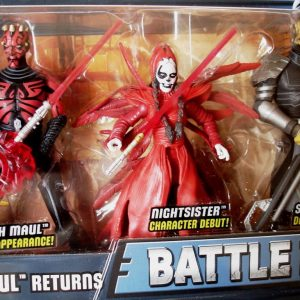 Star Wars Action Figure Darth Maul Return Battle Pack Hasbro